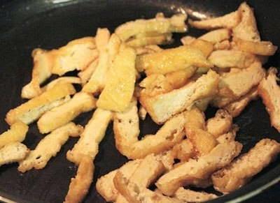 Vietnamese Recipes Vegetarian - Bắp Cải Xào Nấm Và Đậu Phụ