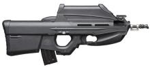 Fusil de asalto F-2000 5.56x45mm OTAN, fuego selectivo.