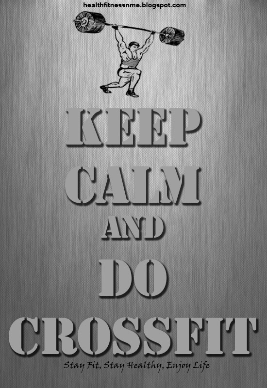 Keep Calm & Do Crossfit