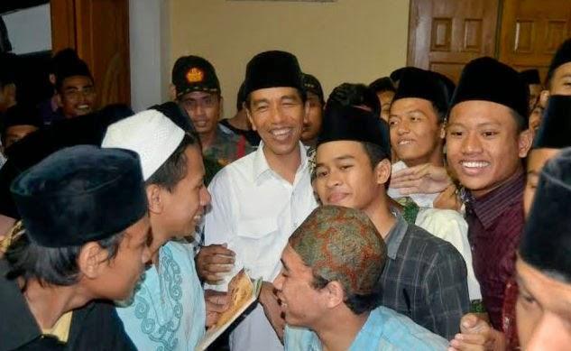Kunjungan Jokowi Di Kota Rembang