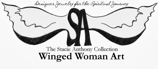 Winged Woman Art; The Stacie Anthony Collection