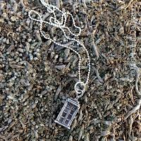 fine silver TARDIS pendant