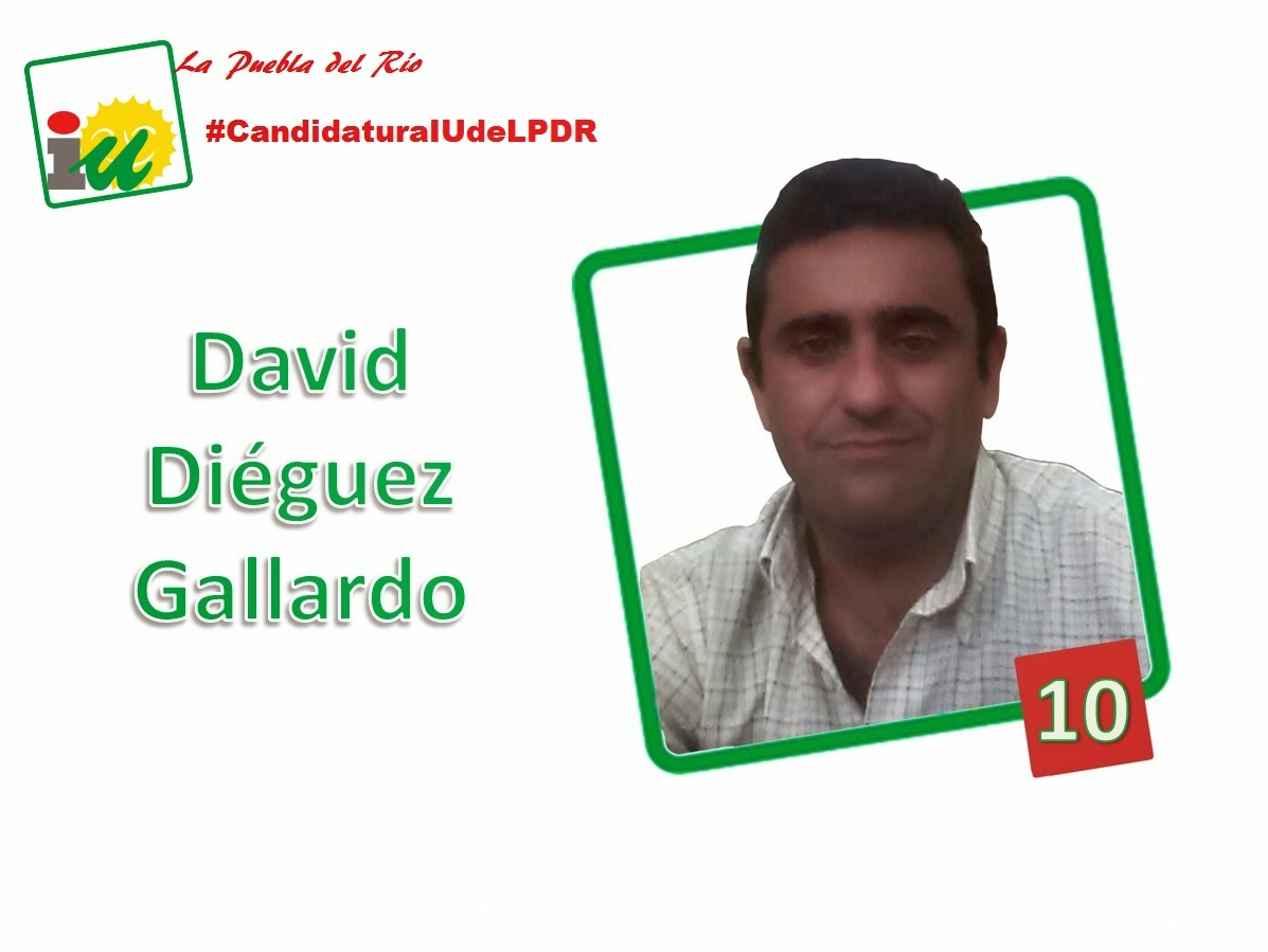 #CandidaturaIUdeLPDR David Diéguez