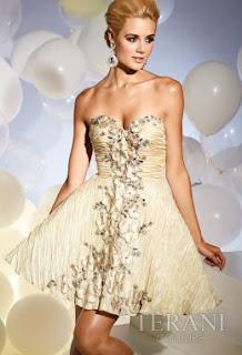 Kurze Kleider Prom - Terani Kollektion 2011 - 2012