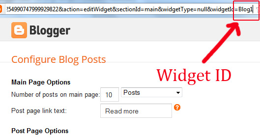 Blogger Blogspot Widget Removal Pop Up Window