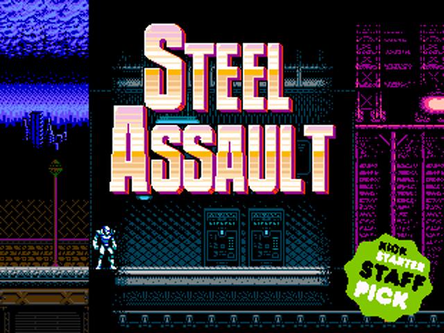 ¡De 8 a 16 bits! Steel Assault toma una nueva dirección