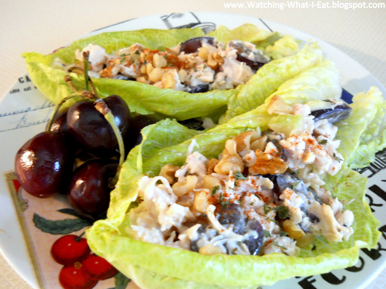 Chicken Salad With Grapes And Walnuts Walnut chicken salad lettuce