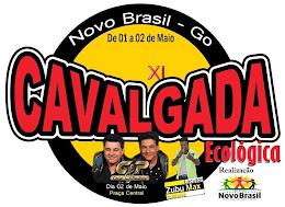 CAVALGADA ECOLÓGICA - NOVO BRASIL