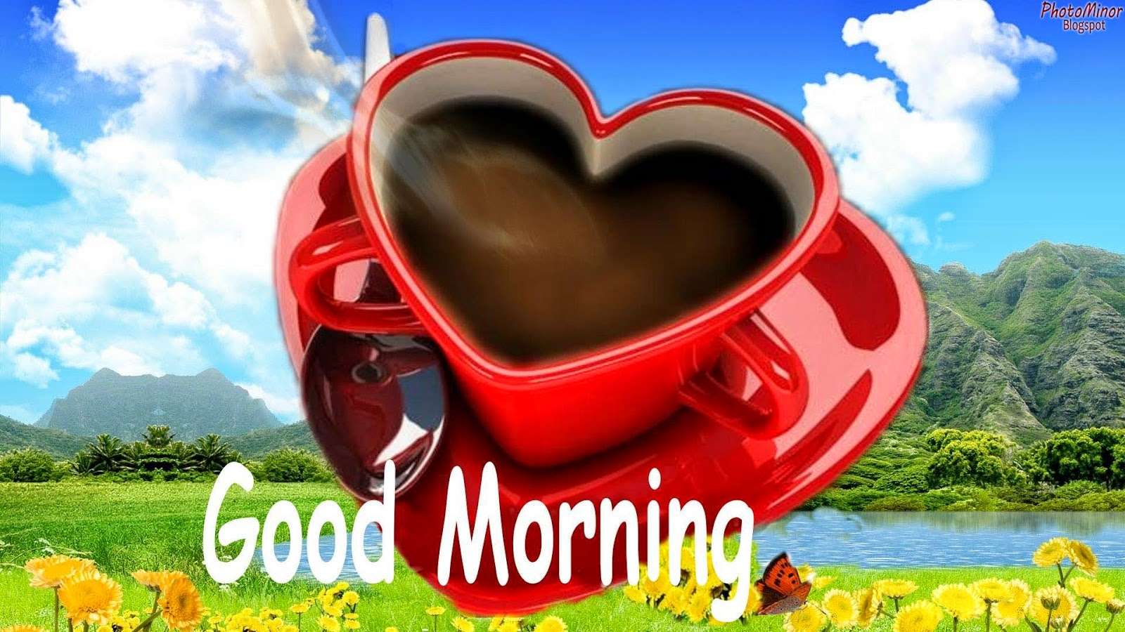 top good morning hd new wallpapers 2014 | amazing photo stock