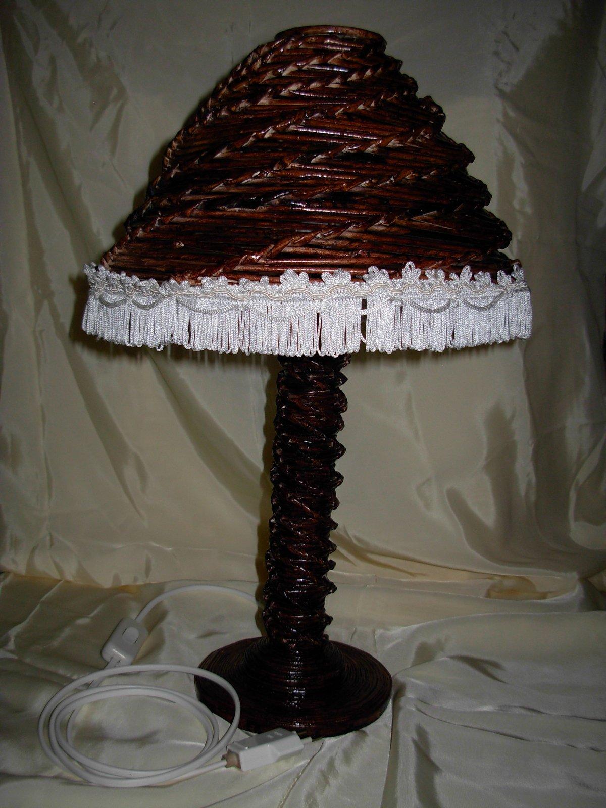 Lampara de papel reciclado la casa de los mu ecos - La casa de las lamparas ...