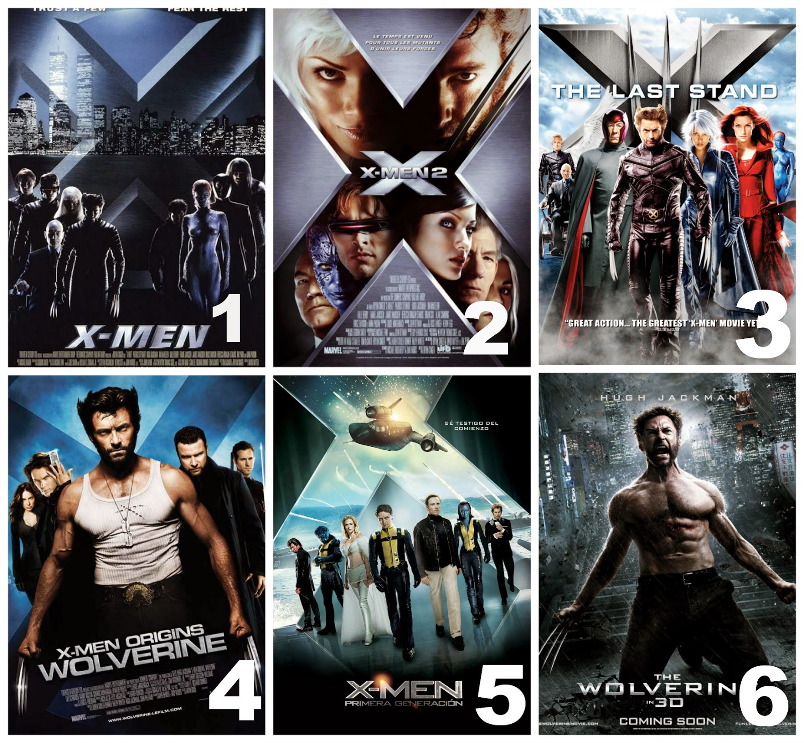 sarahs spiel a guide to the xmen movies