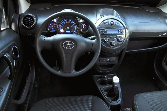 Jac J2 interior painel