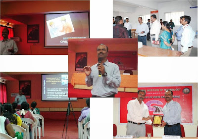 "Guest lecture on ""Job Opportunities in Civil Engineering and Project Management System"""