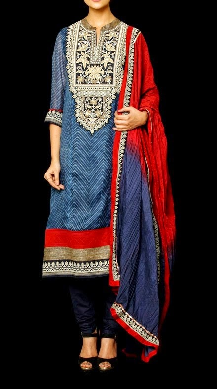 Indian Designer Pret Dresses Collection 2014