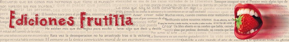Ediciones Frutilla