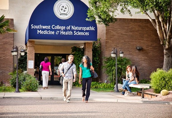 image of SCNM students on campus