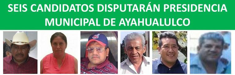ayahualulco candidos