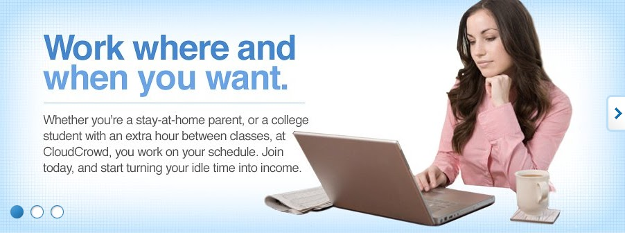 how to work online from home and get paid