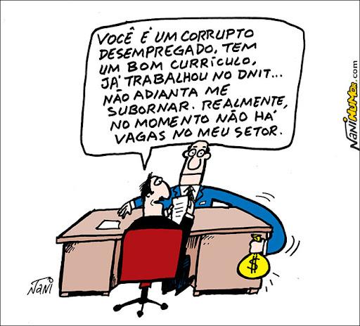 Os corruptos demitidos do Dnit
