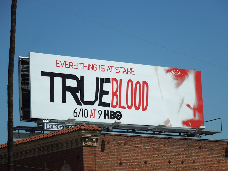 True Blood season 5 Vampire Bill billboard