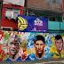 Las calles de Brasil se llenan de color para el Mundial