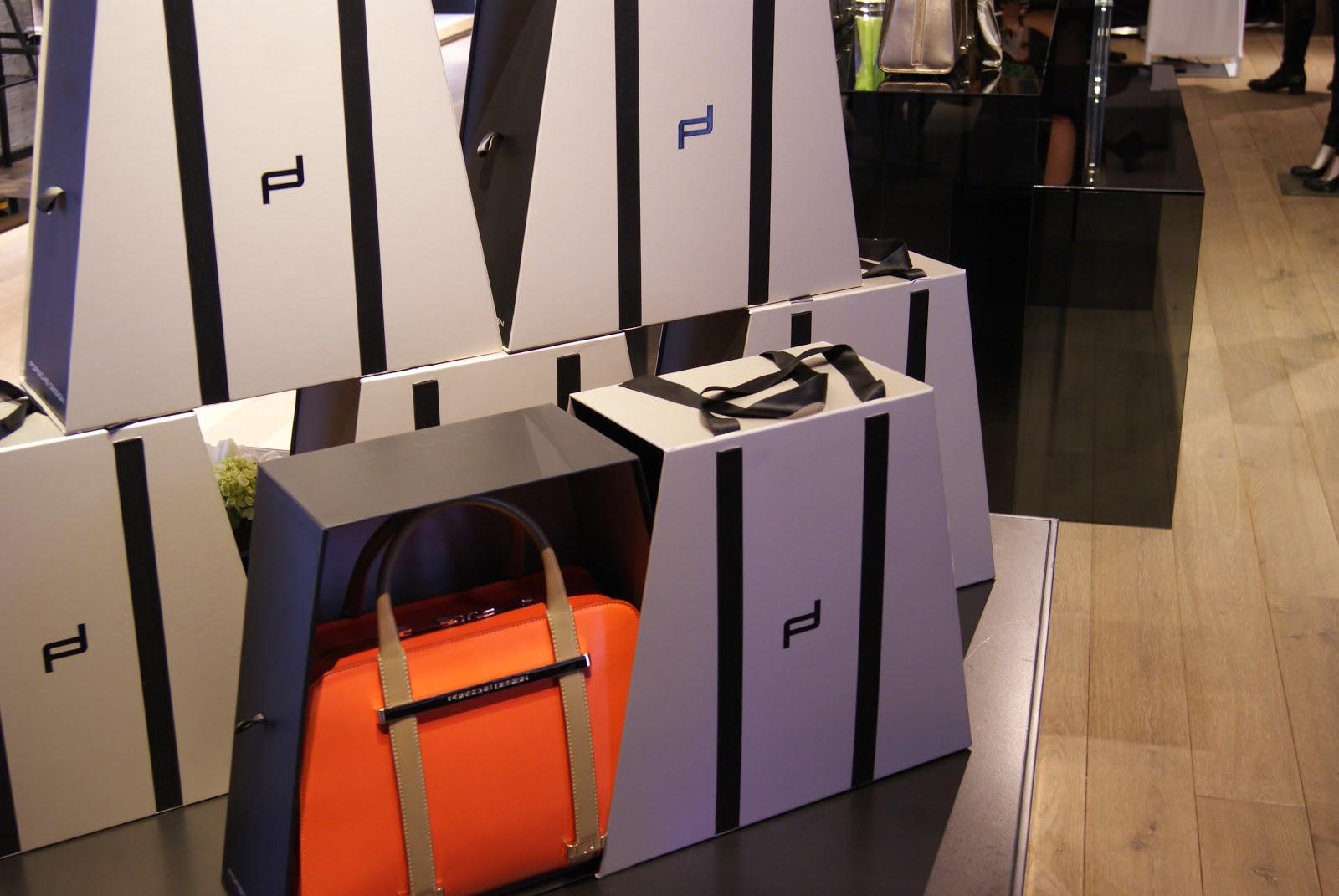 46865b5838a Belles and Rebelles  Porsche Design Twin Bag Preview Event