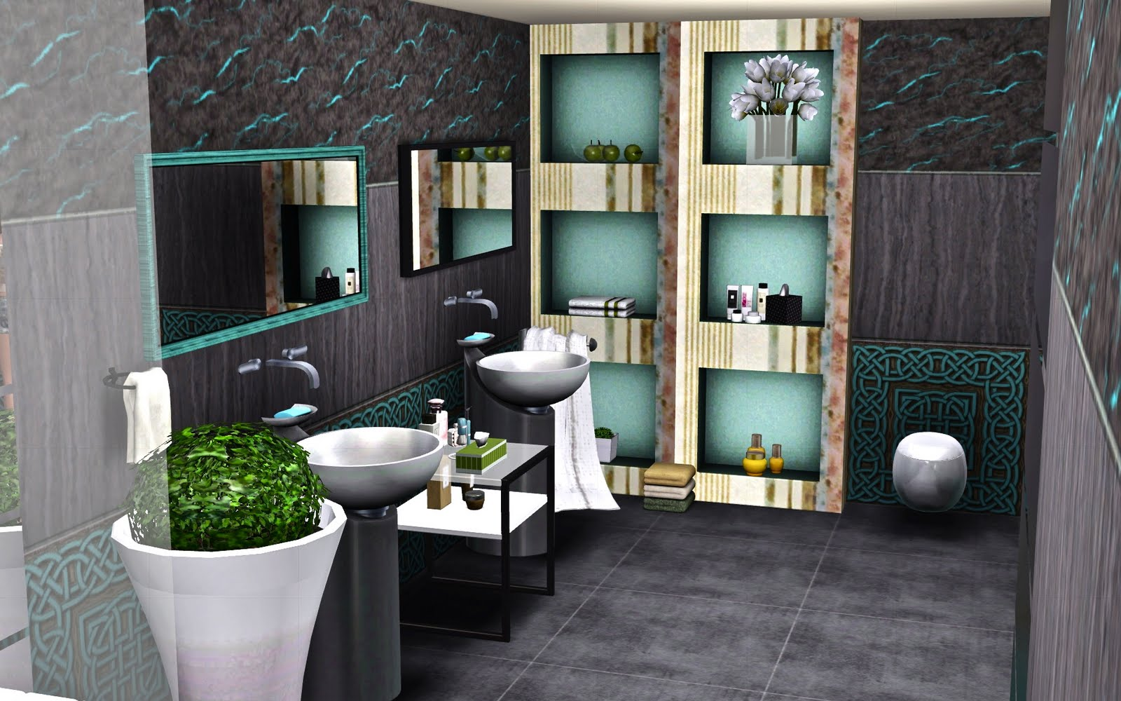 le blog de guijobo ambiance salle de bain oniris. Black Bedroom Furniture Sets. Home Design Ideas