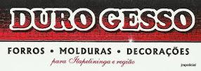 DURO GESSO Forros, Molduras, Decorações