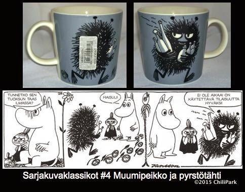 Moomin mug, Stinky