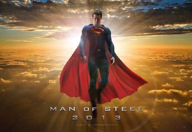 O Homem de Aço novo filme do superman