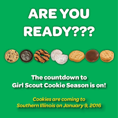 girl scouts of southern illinois girl scout cookie