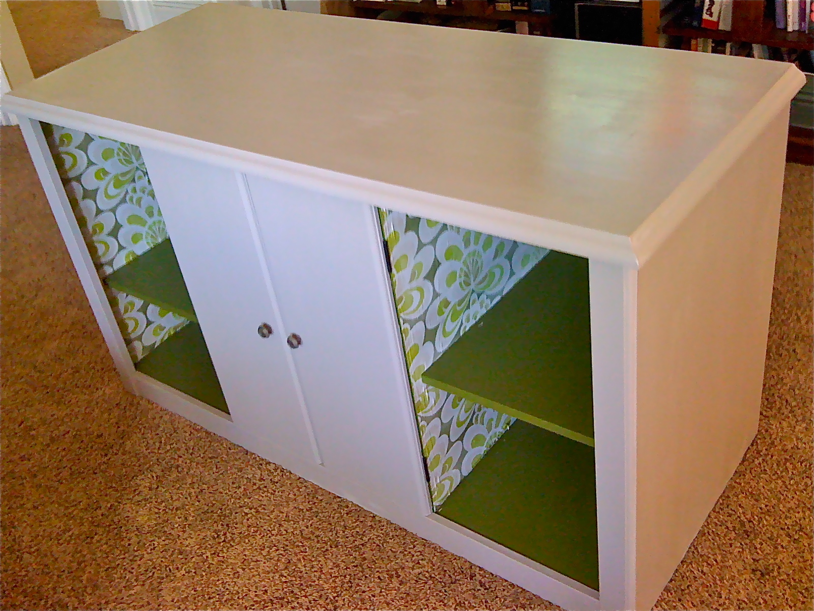 Upcycled entertainment center ivy co for Upcycled entertainment center
