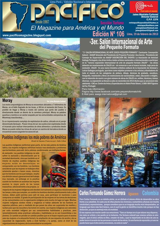 Revista Pacífico Nº 106 Turismo