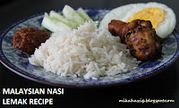 how to cook nasi lemak