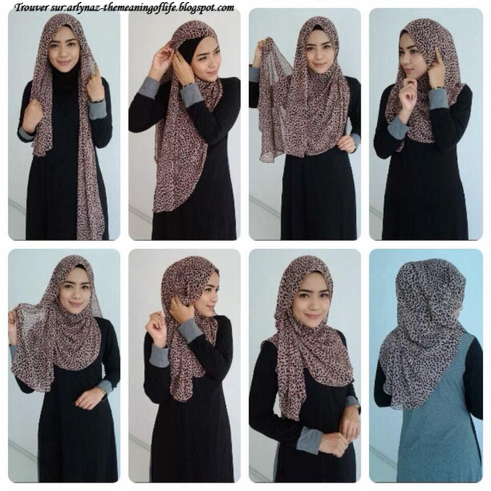 Hijab Fashion Les Plus Beaux Tutoriel Hijab Pour Lunette Hijab Et Voile Mode Style Mariage