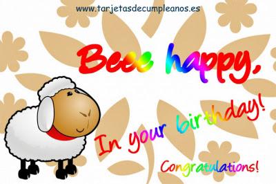 Beee Happy oveja