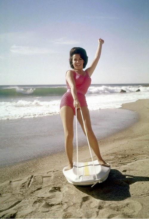 Annette, Beach Party, surfer, bikini,