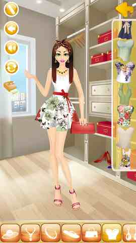 Summer Girl Makeover, iPhone Applications