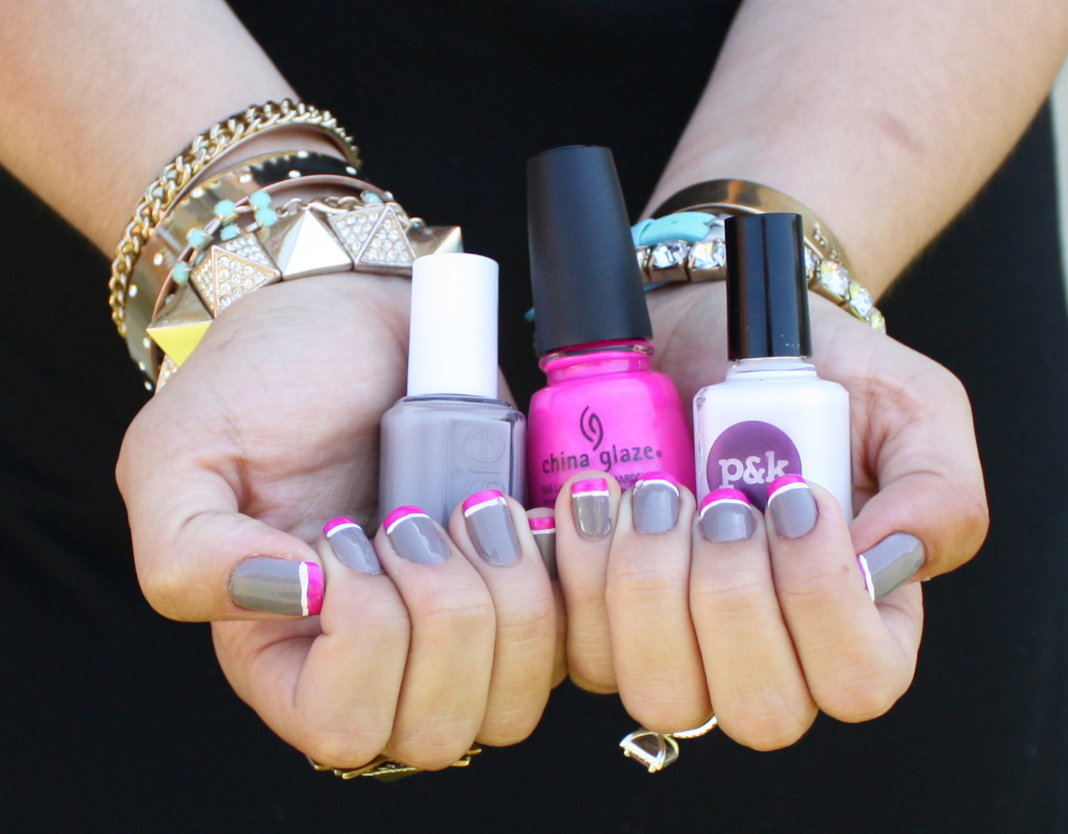 It\'s because I think too much: Purple Panic Manicure