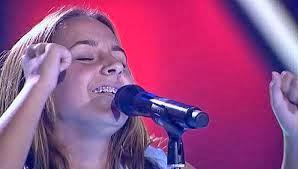 Rosario Flores finalista. La Voz Kids