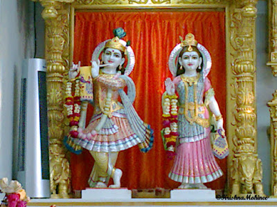 Image : Radha Krishna in BAPS Swaminarayan Temple, Dhule