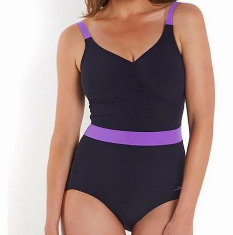 Speedo Speedosculpture Crystalshine swim suit