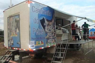 Caminhão do peixe-popular em Senador Sá nesta quinta-feira 08/11/2012, aproveite.