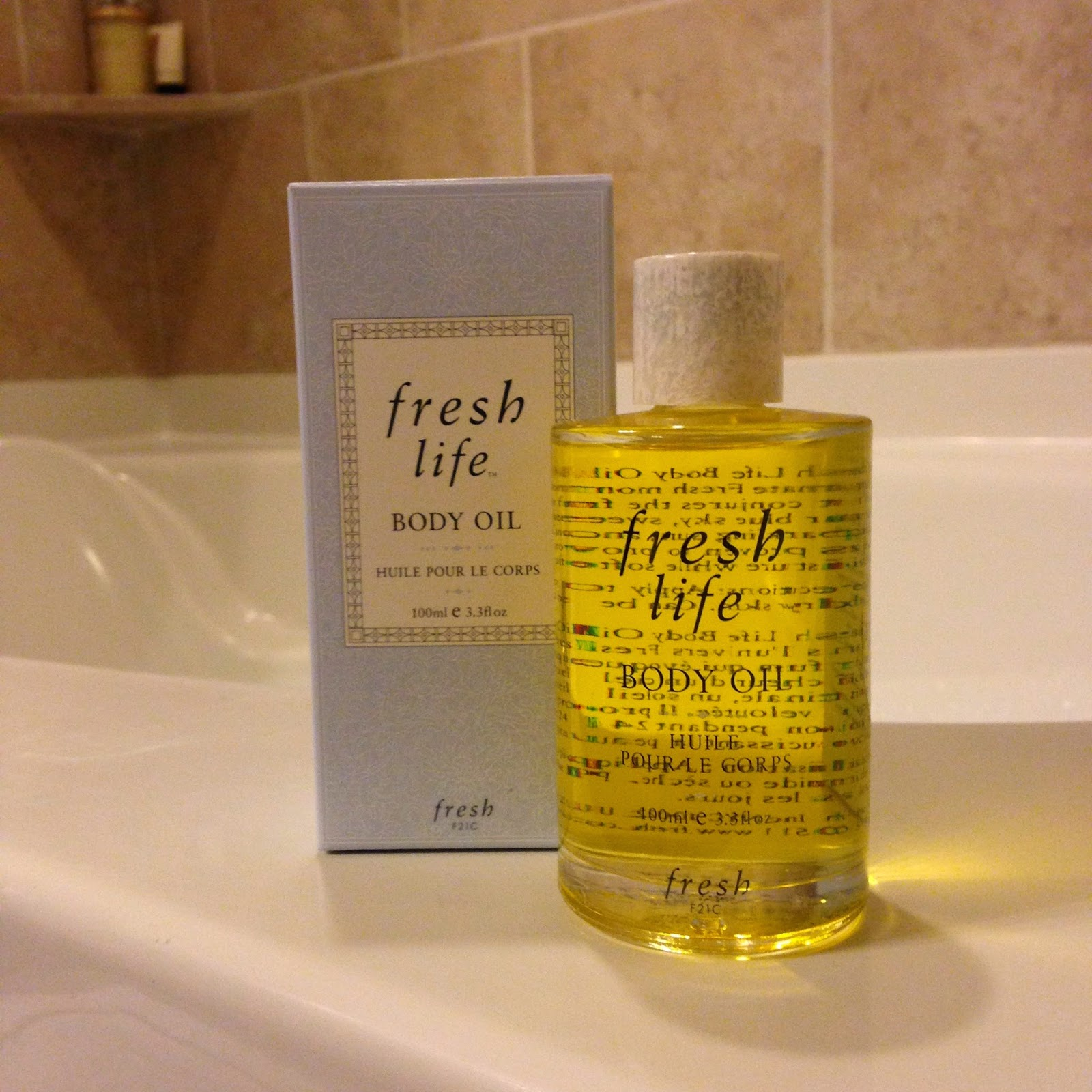 Fresh Body Oil