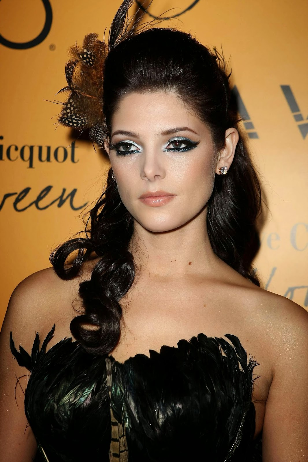 Ashley Greene Sexy Dress