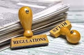 New laws regulations rules government