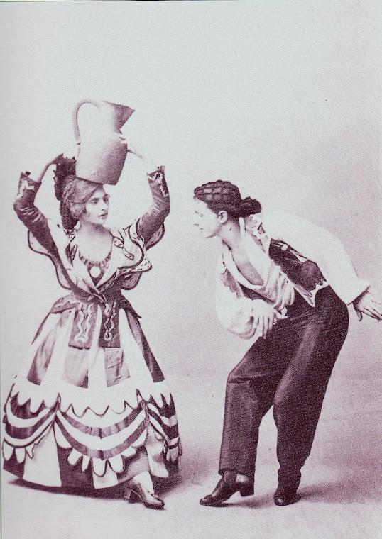 Vera Nemtchinova e Leonid Massine.