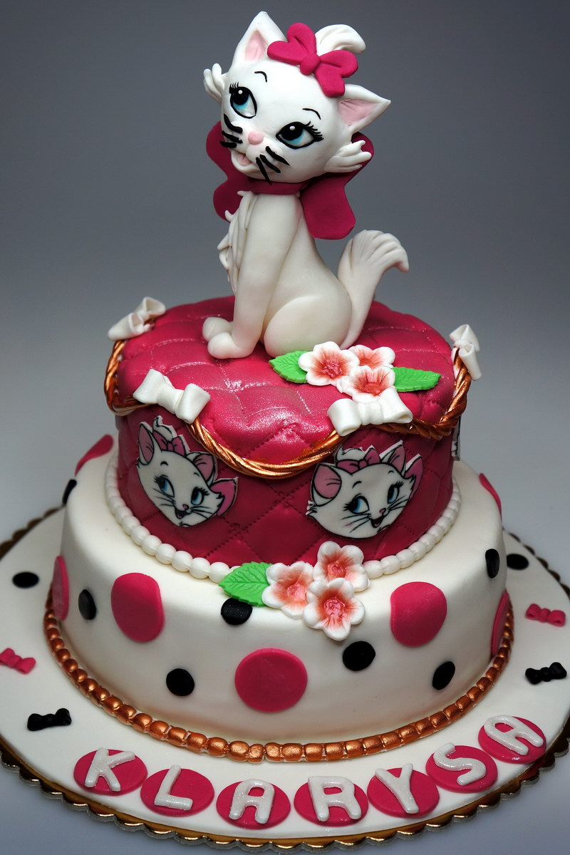 Birthday Cake Images Disney : London Patisserie: Birthday Cake Aristocats Marie - London