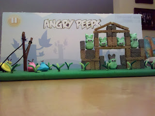 angry birds peeps diorama from 2011 washington post contest