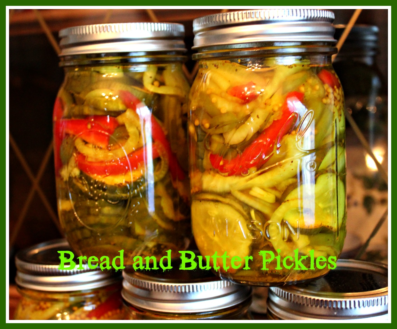 Sweet Tea and Cornbread: Mama's Bread and Butter Pickles!
